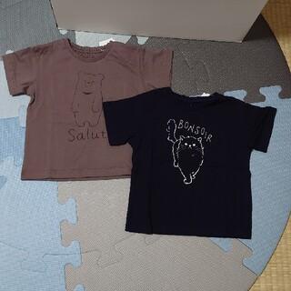エニィファム(anyFAM)の90サイズTシャツ 2枚セット(Tシャツ/カットソー)