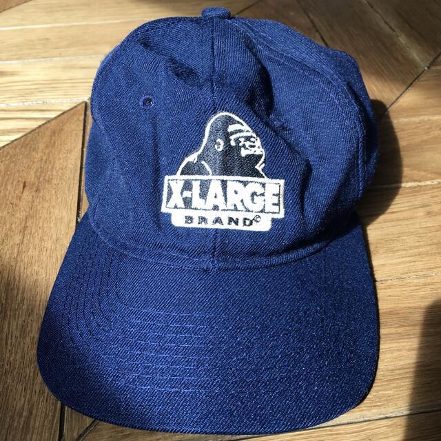 XLARGE(エクストララージ)のx-LARGE キャップ ネイビー メンズの帽子(キャップ)の商品写真