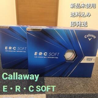 キャロウェイ(Callaway)のキャロウェイ ERC ソフト トリプルトラック 2ダース(ゴルフ)