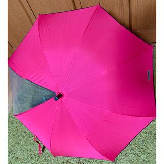 アウトドアプロダクツ(OUTDOOR PRODUCTS)のOUTDOOR   kids   長傘 ショッキングピンク 55㎝(傘)