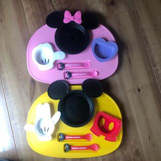 ディズニー(Disney)の新品未使用!(離乳食器セット)