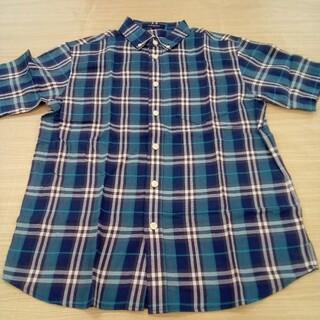 バーバリー(BURBERRY)のバーバリー 150cm 半袖 チェック シャツ 02MN05261067(ブラウス)