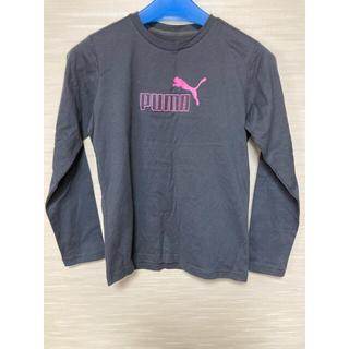 プーマ(PUMA)のプーマ 長袖Tシャツ・グレー レディスM(Tシャツ(長袖/七分))