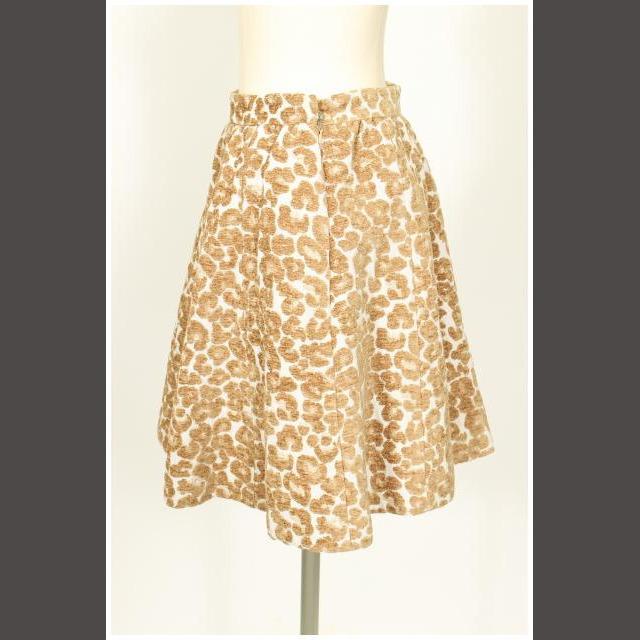Aveniretoile(アベニールエトワール)のアベニールエトワール Aveniretoile 14AW レオパード ジャガード レディースのスカート(ミニスカート)の商品写真