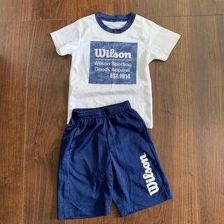 ウィルソン(wilson)の男児スポーツTシャツ上下 110(Tシャツ/カットソー)