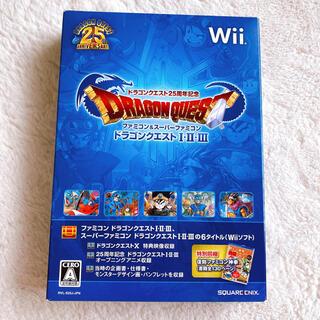 ウィー(Wii)のドラクエⅠ Ⅱ Ⅲ ドラゴンクエスト25周年記念 ファミコン&スーパーファミコン(家庭用ゲームソフト)