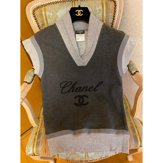 シャネル(CHANEL)のシャネル CHANEL 半袖 トップス ココマーク ロゴが可愛いです♫(カットソー(半袖/袖なし))