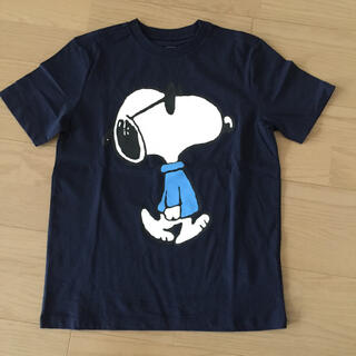 ギャップキッズ(GAP Kids)のキッズ 半袖Tシャツ スヌーピー   紺 新品 130(Tシャツ/カットソー)