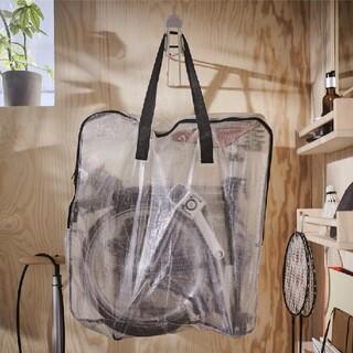 IKEA - IKEA 収納 保管バック 透明 ディムパ