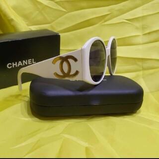 シャネル(CHANEL)のCHANEL ヴィンテージ オールド レア サングラス ビッグサングラス(サングラス/メガネ)