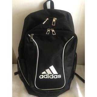 adidas - アディダス サッカーボール用リュック  ブラック  4号5号兼用サイズ