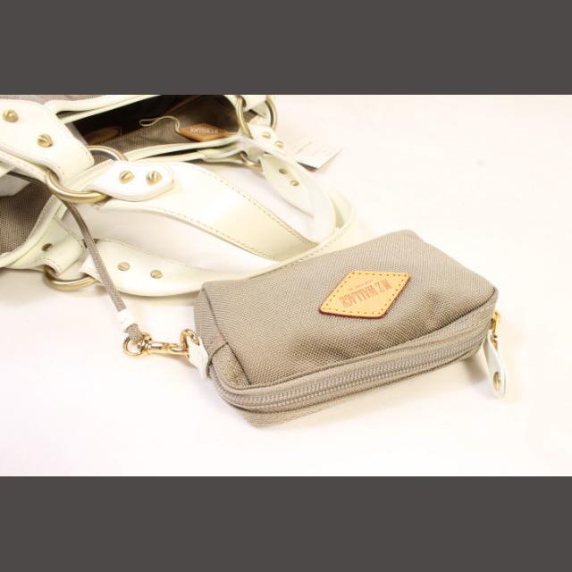 MZ WALLACE(エムジーウォレス)のエムジーウォレス MZ WALLACE バッグ ハンド キルティング グレー / レディースのバッグ(ハンドバッグ)の商品写真