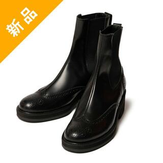 glamb - 定価4.3万・新品★glamb レザー製メダリオンドレスシューズ ブーツ 靴