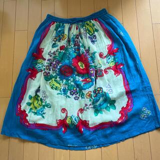 チチカカ(titicaca)のチチカカ スカート インドコットン(ひざ丈スカート)