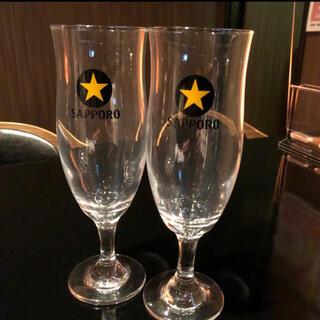 サッポロ - サッポロ生ビール足付きビアグラス2個 (2)