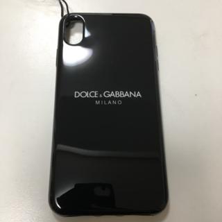 ドルチェアンドガッバーナ(DOLCE&GABBANA)の【新品未使用】DOLCE&GABBANA スマホケース iPhoneXS MAX(iPhoneケース)