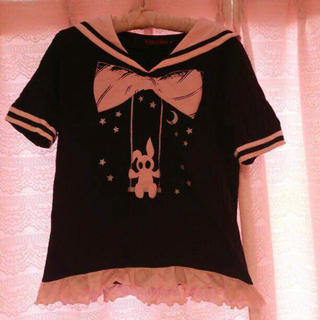 タクシックスター(TOXIC STAR)の【破格】toxic star セーラートップス(Tシャツ(半袖/袖なし))
