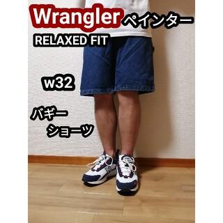 ラングラー(Wrangler)の90s ラングラー デニムバギーパンツハーフパンツ ペインターショートパンツ(ペインターパンツ)