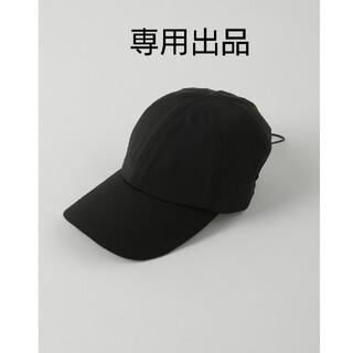 エンフォルド(ENFOLD)の☆専用☆新品 ナゴンスタンス キャップ ブラック(キャップ)