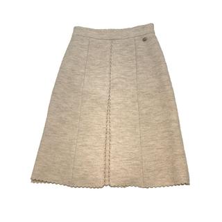 シャネル(CHANEL)のシャネル CHANEL ウールスカート スカート レディース【中古】(ひざ丈スカート)
