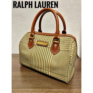POLO RALPH LAUREN - 【POLO Ralph Lauren】ラルフローレン 千鳥 ミニボストン バック