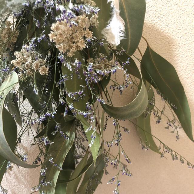 ドライフラワー スワッグ スモークツリー No.15 ハンドメイドのフラワー/ガーデン(ドライフラワー)の商品写真