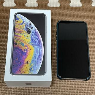 アイフォーン(iPhone)のiPhone XS 256GB シルバー simフリー(スマートフォン本体)