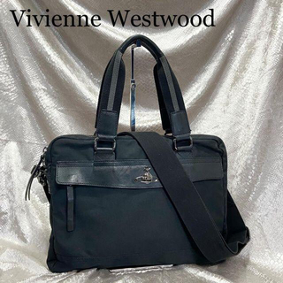 ヴィヴィアンウエストウッド(Vivienne Westwood)の☆ヴィヴィアンウエストウッド☆2way ビジネスバッグ ショルダー 黒ブラック.(その他)