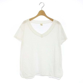 ロンハーマン(Ron Herman)のロンハーマン Vネック Tシャツ カットソー 半袖 XS 白 /AA ■OS(その他)