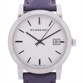 BURBERRY - バーバリー  SS×革   ユニセックス 腕時計