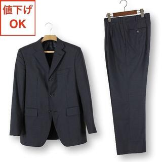 タケオキクチ(TAKEO KIKUCHI)の11 タケオキクチ スーツ 上3下4 メンズ 上L下LL A7 黒 tqe 美品(セットアップ)