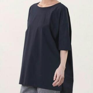 プラステ(PLST)のプラステ ビッグTシャツ Mサイズ 黒(Tシャツ(半袖/袖なし))