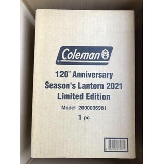 コールマン(Coleman)のコールマン 120th アニバーサリー シーズンズランタン レッド(ライト/ランタン)