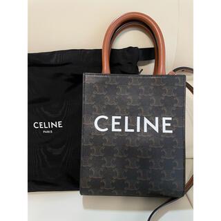 セリーヌ(celine)の(なべ様専用)CELINE ミニ バーティカルカバ トリオンフ キャンバス(ショルダーバッグ)