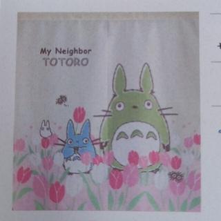 ジブリ - 【新品】となりのトトロ★のれん チューリップとトトロ