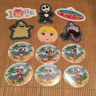 ディズニー(Disney)の非売品ステッカー 12枚(しおり/ステッカー)