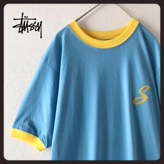 ステューシー(STUSSY)の【新品未使用タグ付】レア tシャツ USA製  stussy ステューシー(Tシャツ/カットソー(半袖/袖なし))