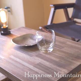 アンティーク風ローテーブル(天然ワックス仕上げ)新品未使用オリジナル製造(ローテーブル)