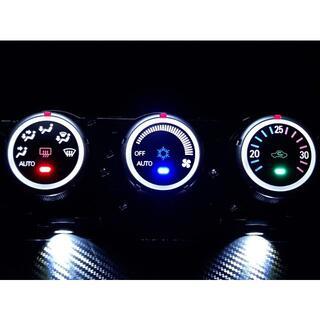 ミツビシ(三菱)のデリカ D:5 CV5W エアコンパネル LED打ち替え交換品(車種別パーツ)