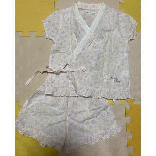 クーラクール(coeur a coeur)のクーラクール⭐️女の子 甚平 サイズ100(甚平/浴衣)