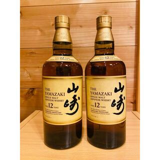サントリー(サントリー)の【送料込】サントリー 山崎12年 2本(ウイスキー)