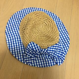ラグマート(RAG MART)の女児 帽子 48センチ (帽子)