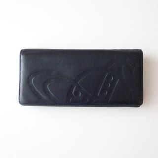 ヴィヴィアンウエストウッド(Vivienne Westwood)のVivienne Westwood レザー長財布 ブラック(長財布)