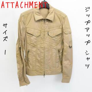 アタッチメント(ATTACHIMENT)のATTACHMENT/アタッチメント ジップアップ シャツ/ジャケット/1(その他)