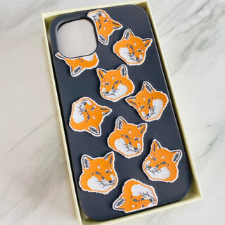 メゾンキツネ(MAISON KITSUNE')の残り1【新品】Maison Kitsune メゾンキツネ iPhone11ケース(iPhoneケース)