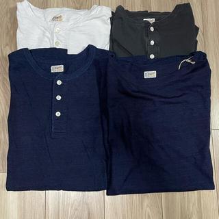 フィグベル(PHIGVEL)のphigvel tee set indigo black white 40 42(Tシャツ/カットソー(半袖/袖なし))