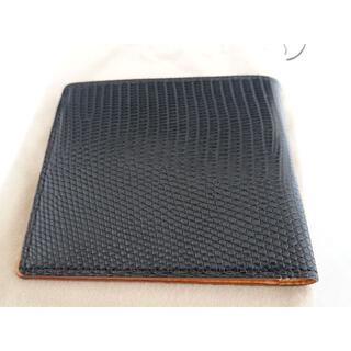ガンゾ(GANZO)のGANZO LIZARD6 (リザード6) 小銭入れ付き二つ折り財布 ガンゾ(折り財布)