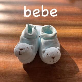 ベベ(BeBe)のベビールームシュ-ズ(靴下/タイツ)