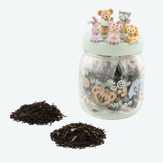 ディズニー(Disney)のダッフィー フレンズ スプリングインブルーム  紅茶 アソーテッドティー 瓶(茶)
