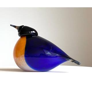 イッタラ(iittala)のNew York Bluebird Corning 2006年 イッタラ バード(置物)